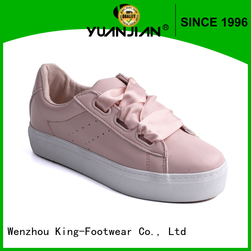 King-Footwear fashion vulcanized shoes factory price for sports