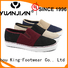 King-Footwear fashion fashionable mens shoes personalized for traveling