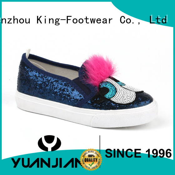 King-Footwear popular pu shoes personalized for sports