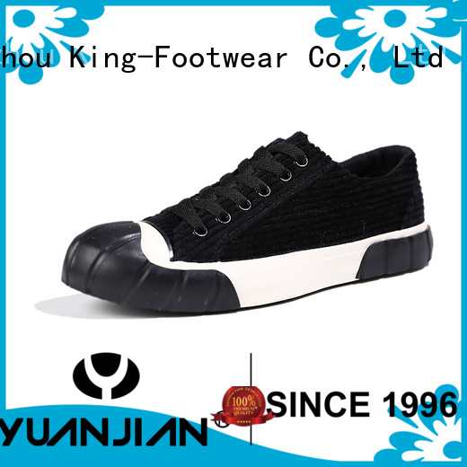 King-Footwear womens canvas shoes lace up sneakers on sale for children