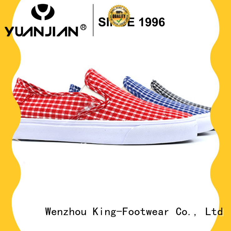 good quality womens canvas trainers manufacturer for working