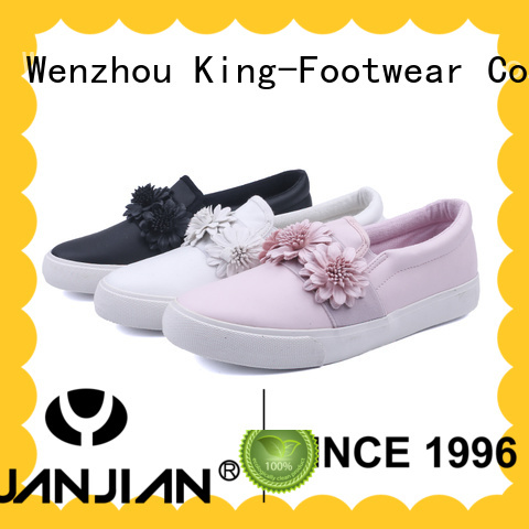 King-Footwear casual slip on shoes factory price for sports
