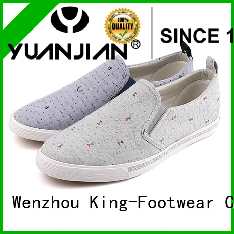 beautiful canvas shoes without lace factory price for travel