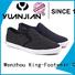 King-Footwear slip on skate shoes factory price for schooling