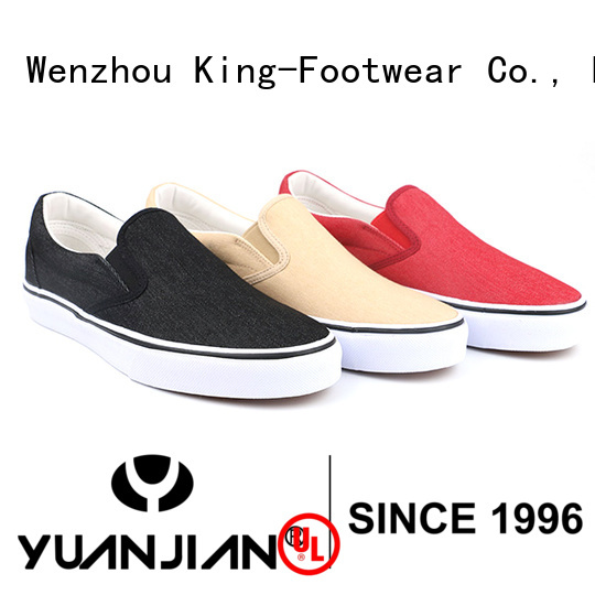 beautiful printed canvas shoes manufacturer for working