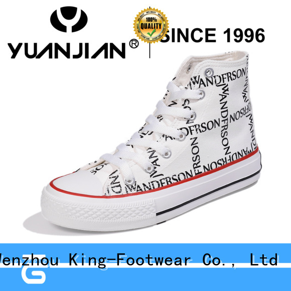King-Footwear beautiful comfortable canvas shoes wholesale for school