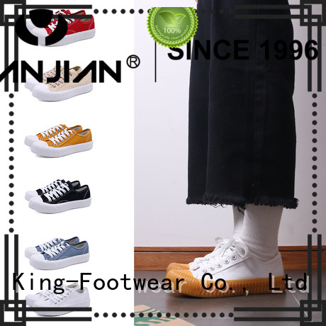 King-Footwear durable blank canvas shoes manufacturer for daily life