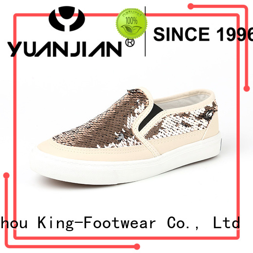 King-Footwear popular pu shoes personalized for schooling