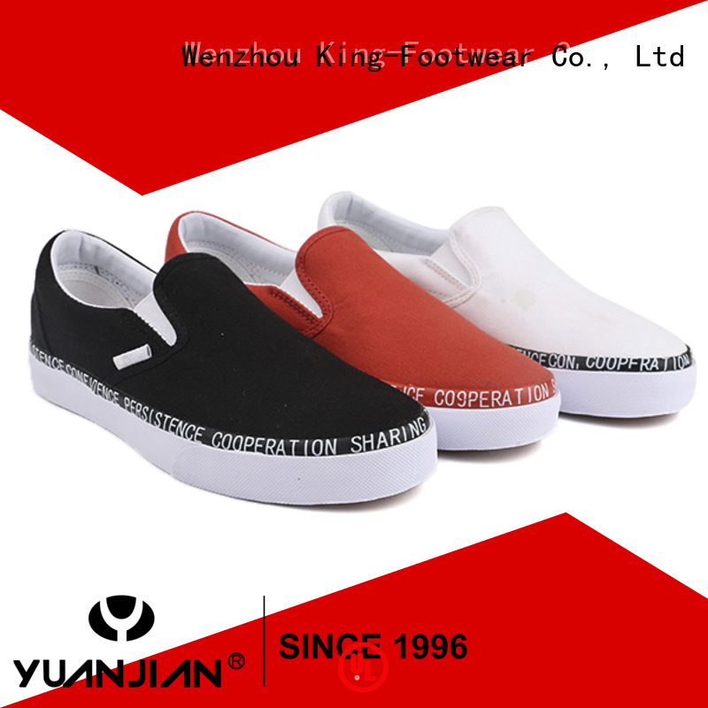good quality school canvas shoes factory price for daily life