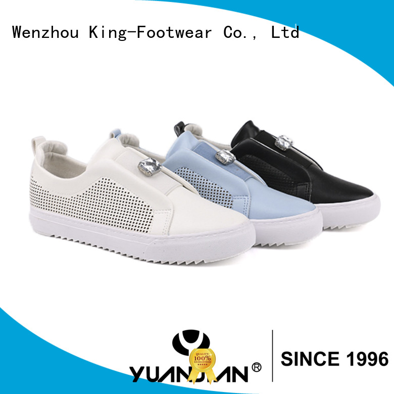 King-Footwear vulcanised rubber factory price for occasional wearing