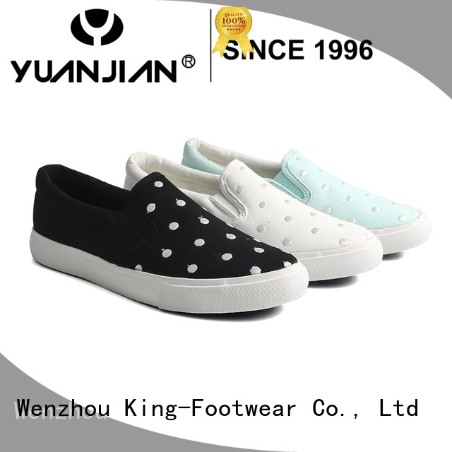 King-Footwear new canvas shoes factory price for daily life