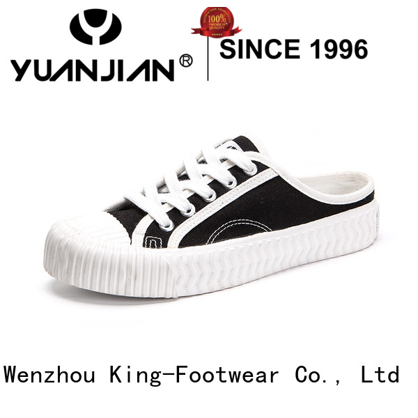 King-Footwear beautiful mens casual canvas shoes wholesale for working
