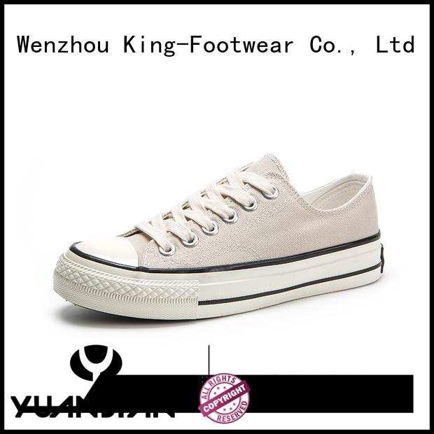 King-Footwear glitter canvas shoes wholesale for school