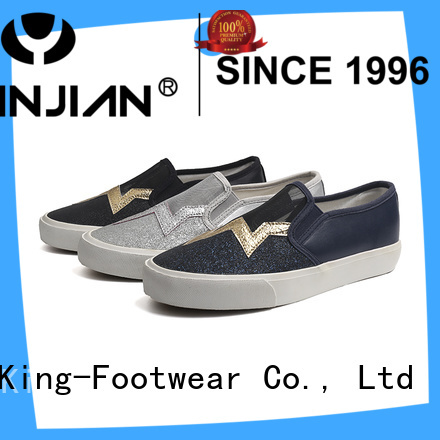 modern slip on skate shoes supplier for occasional wearing