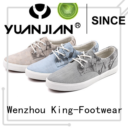 durable comfortable canvas shoes factory price for working