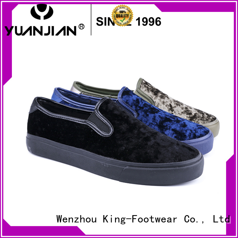 King-Footwear vulc shoes personalized for traveling