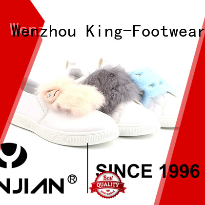 King-Footwear new casual sneakers supply for kids