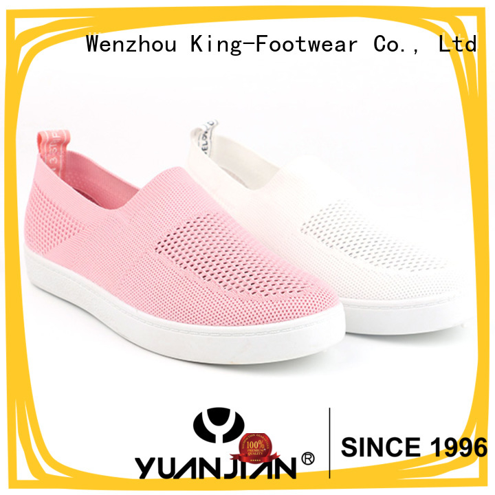 good quality canvas slip on shoes womens manufacturer for daily life