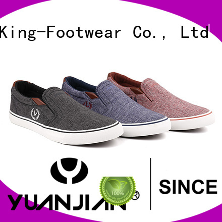 King-Footwear jeans canvas shoes manufacturer for working