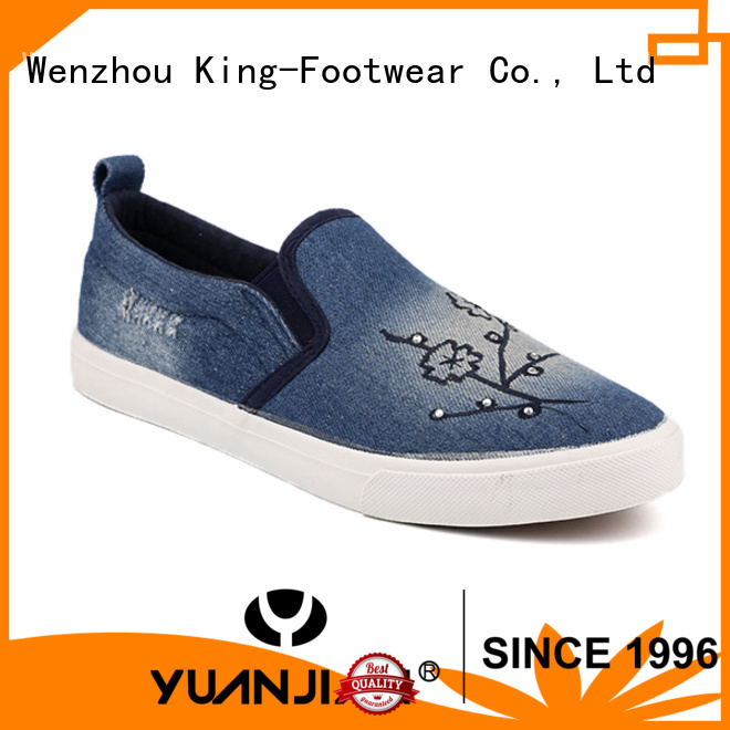 durable school canvas shoes factory price for working