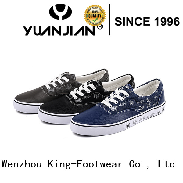 King-Footwear fashion canvas shoes promotion for school