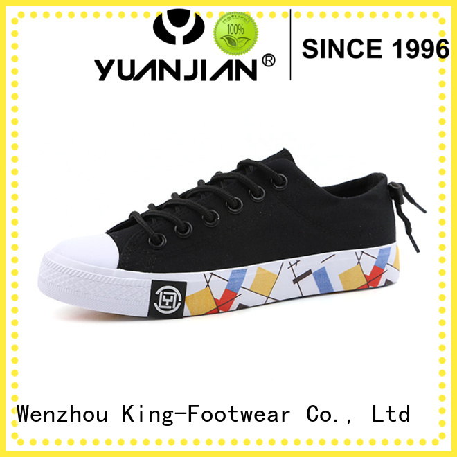 King-Footwear durable comfortable canvas shoes manufacturer for travel