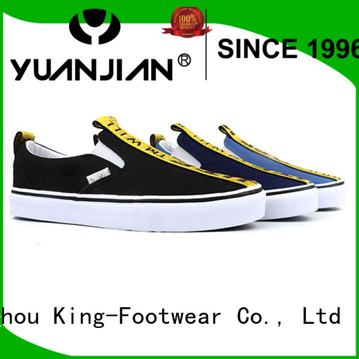King-Footwear beautiful best mens canvas shoes manufacturer for travel