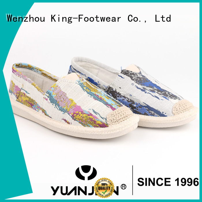 hot sell canvas slip on shoes womens wholesale for school