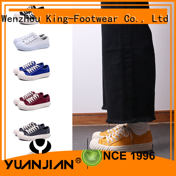 King-Footwear canvas casual shoes promotion for school