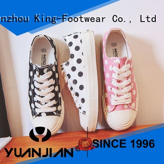 King-Footwear cheap canvas shoes wholesale for travel
