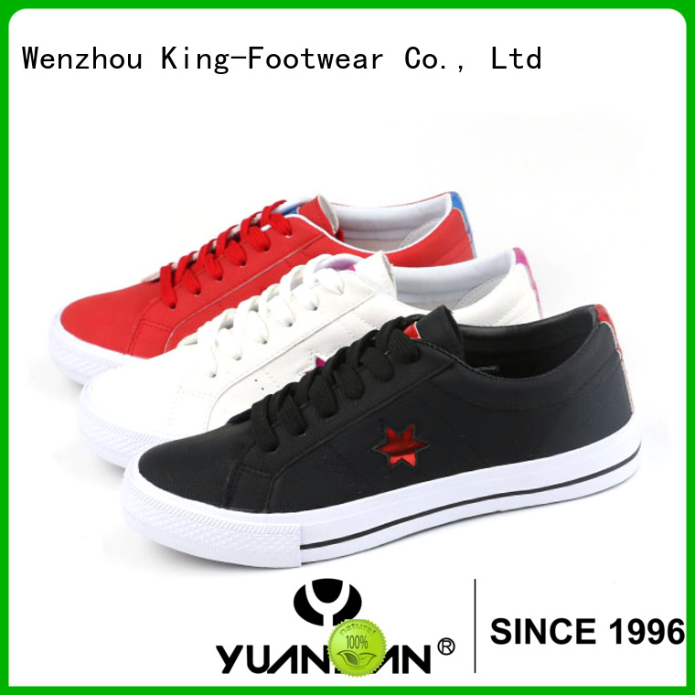 King-Footwear knit sneaker supplier for men