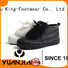King-Footwear pvc shoes personalized for schooling